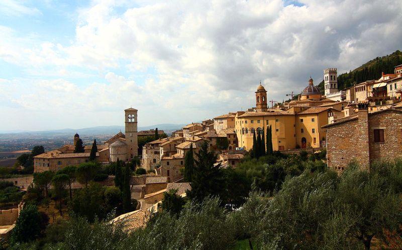 подорож по Італії