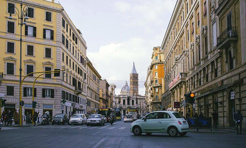 подорожі по Італії