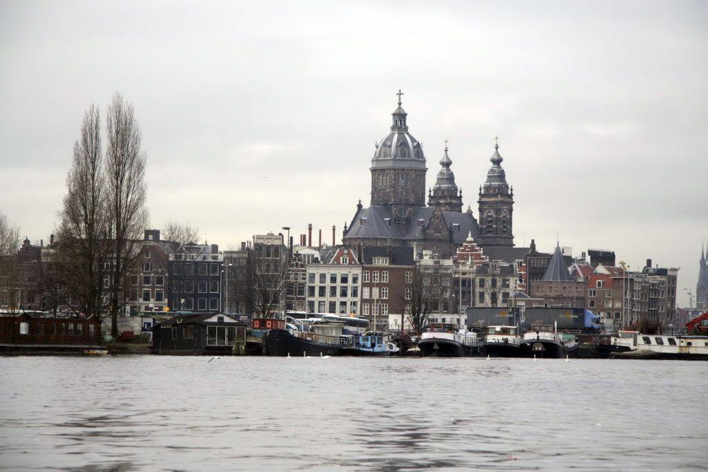 Амстердам взимку