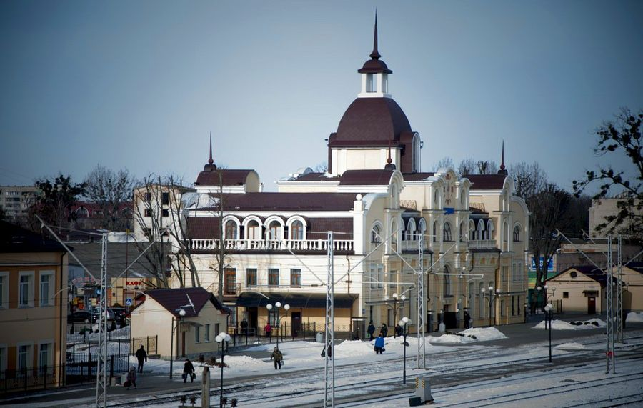 вокзал Луцька