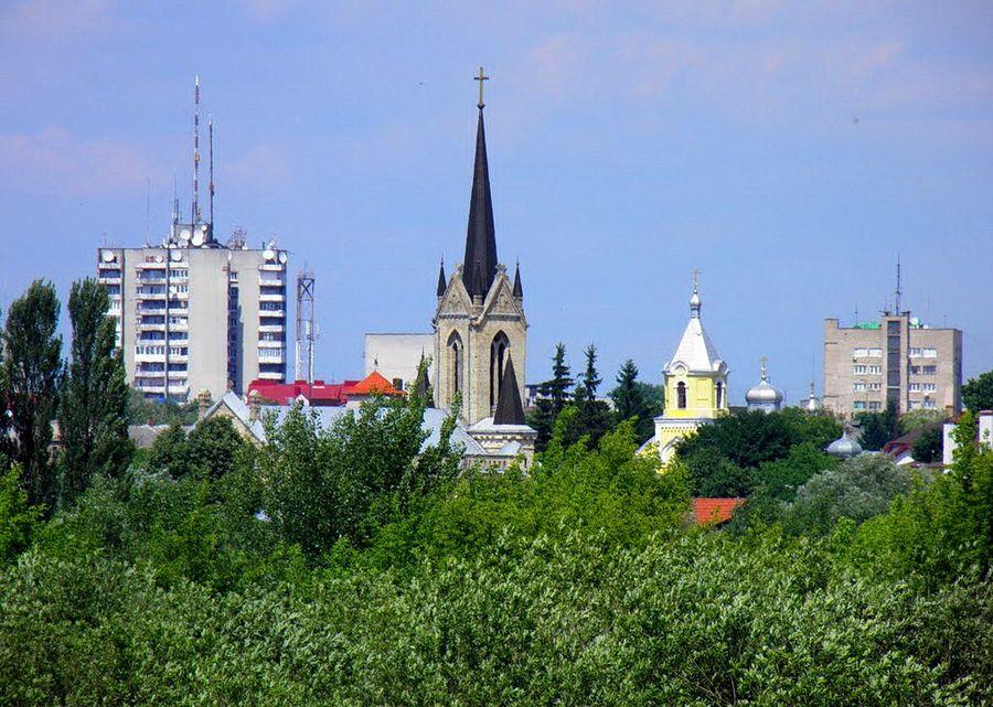 панорама Луцька