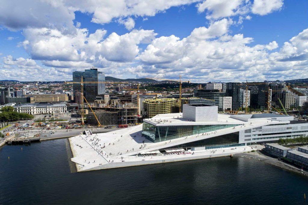 опера в Осло, Норвегія