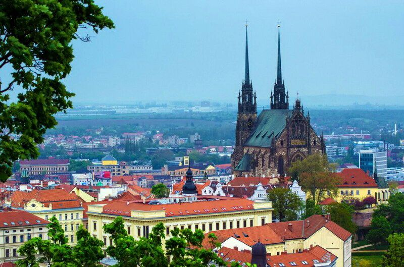 Брно - друге місто Чехії