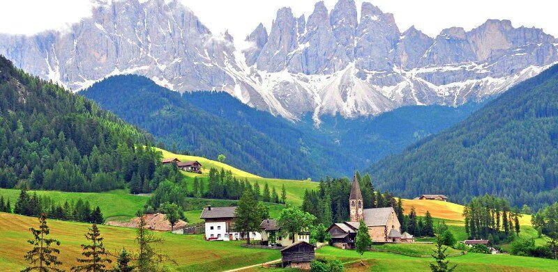 Альпи Італя