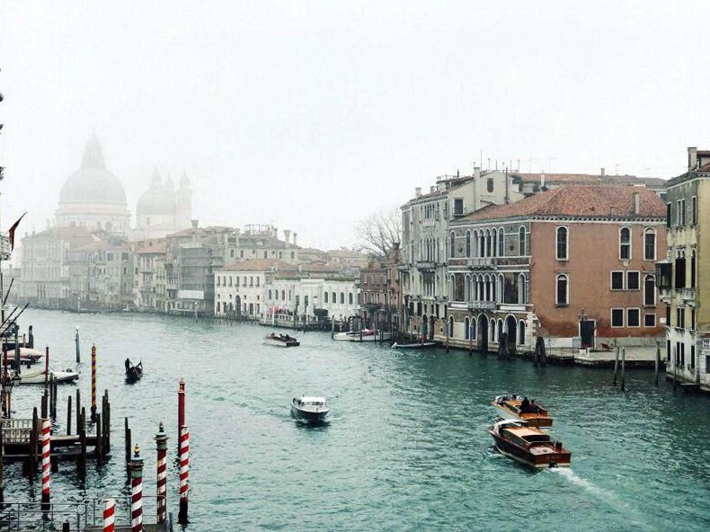 венеція взимку