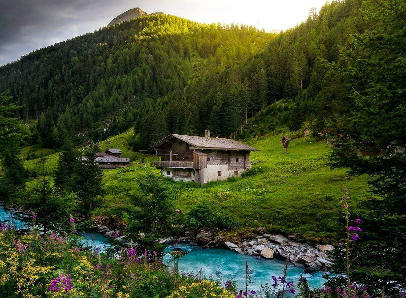 австрія взимку
