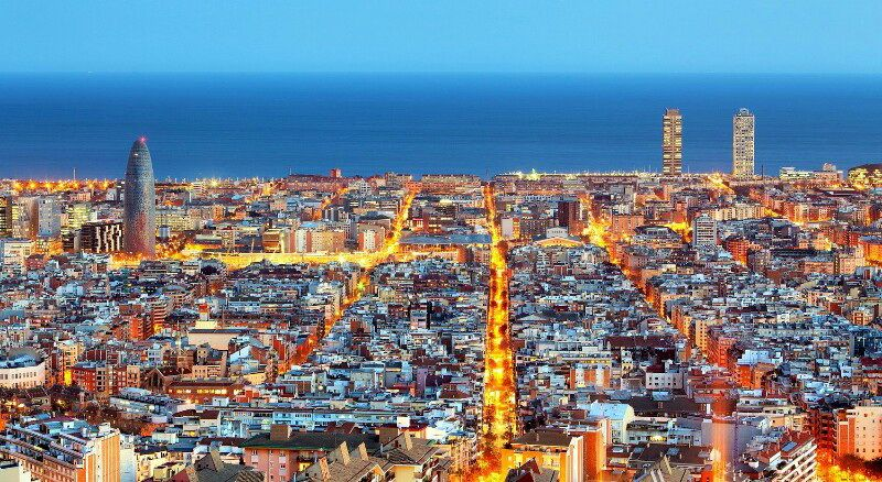 Панорама Барселони