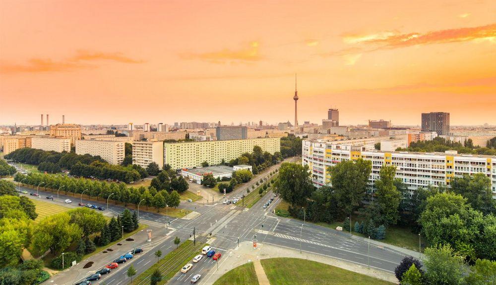 Берлін на заході сонця