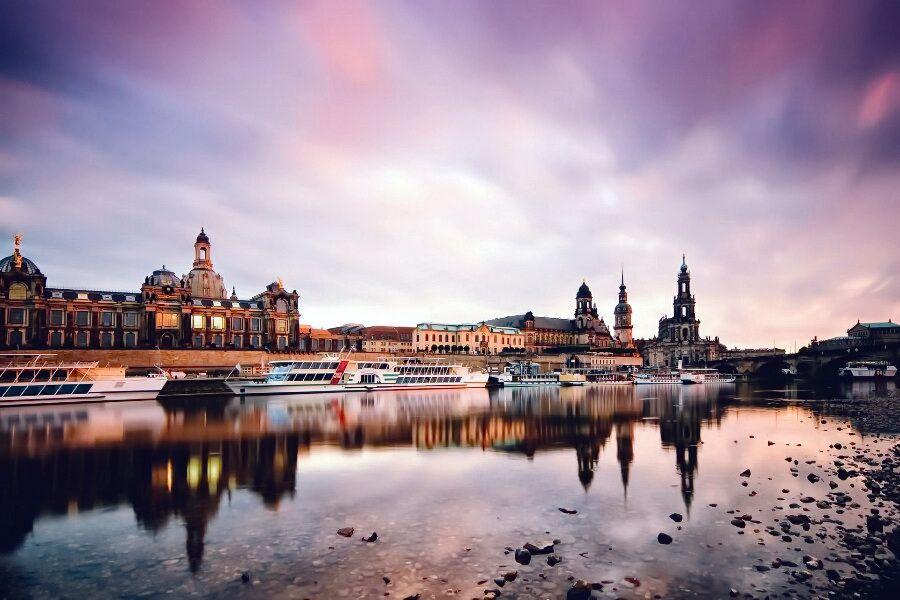 Річка Ельба Дрезден