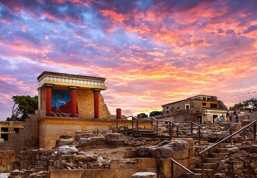 Кноський палац на острові Крит