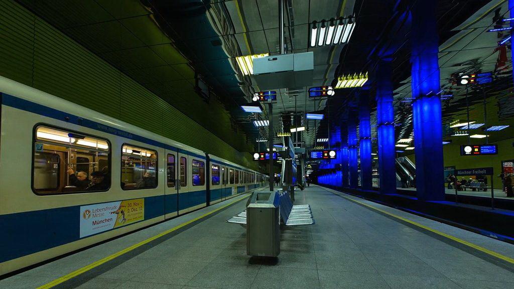 мюнхен общественный транспорт
