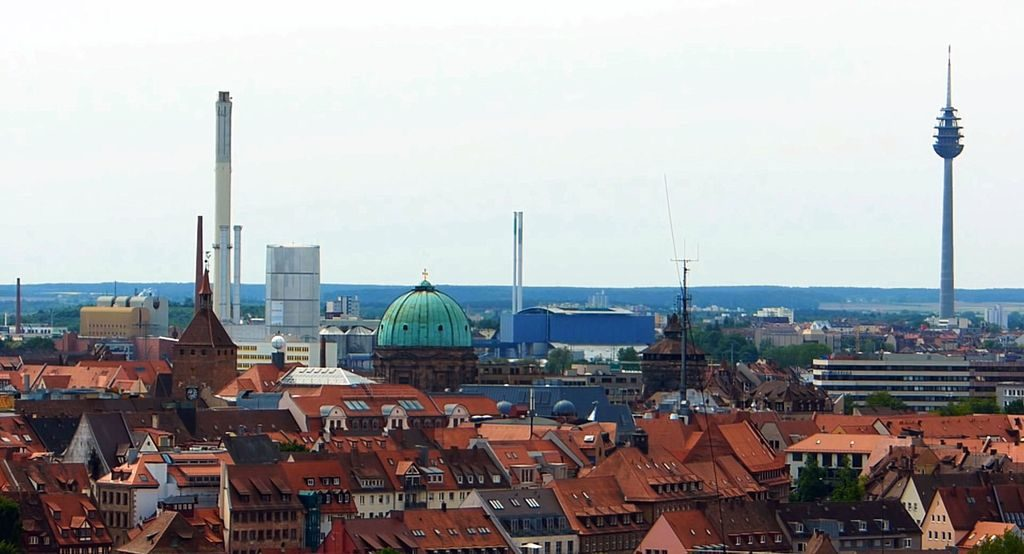Панорама Нюрнберга