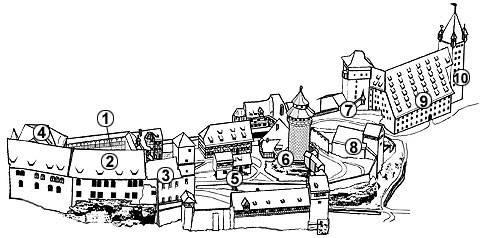 Схема замку