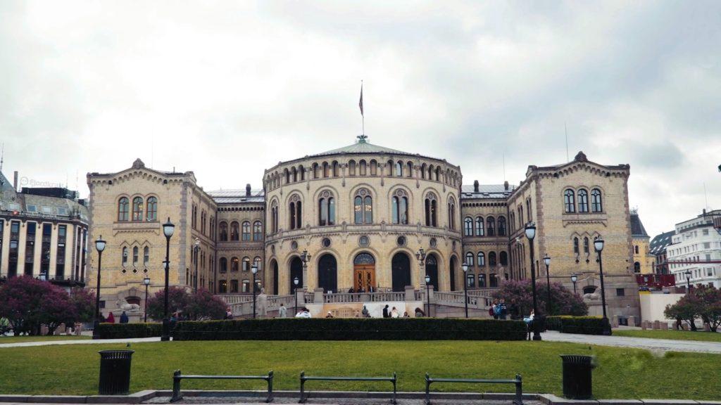Вулиця в Осло фото