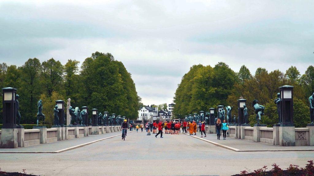 парк скульптур Осло