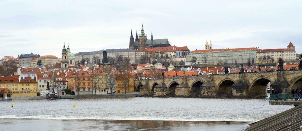 Прага, вид з Влтави