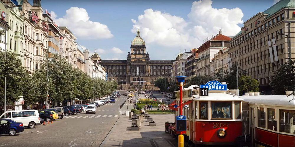 Вацлавська площа в Празі