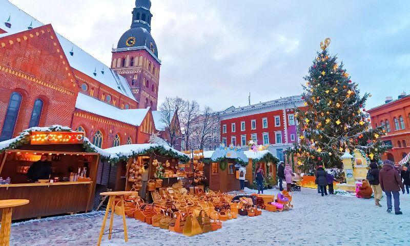 Різдвяний ринок в Ризі