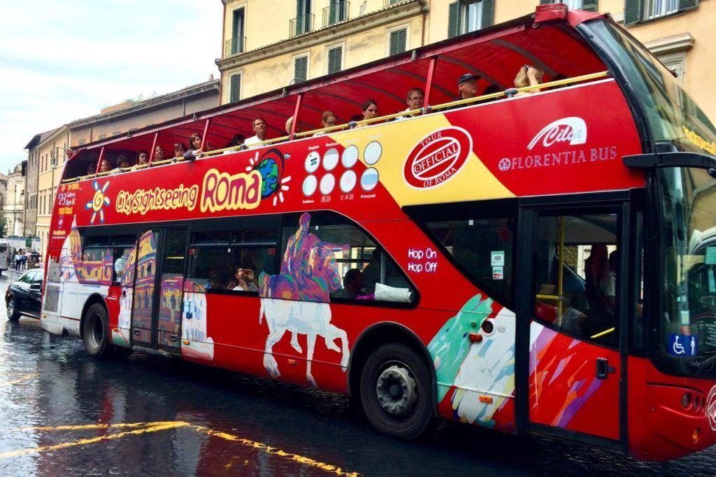 рим автобус экскурсия