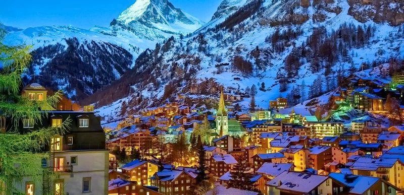 Зима Швейцарії