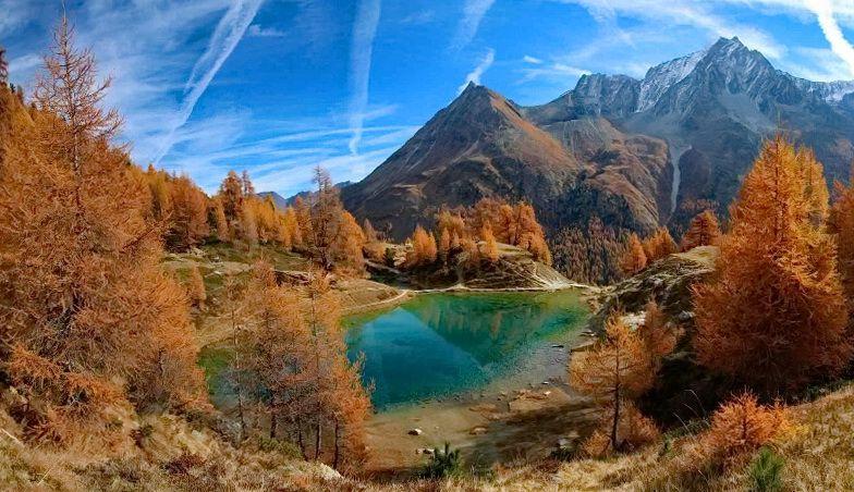 Швейцарія осінь