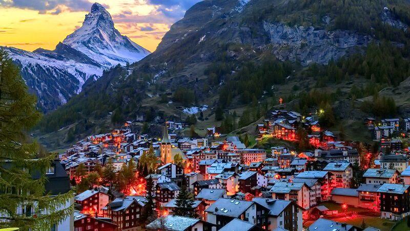 швейцарія визначні місця