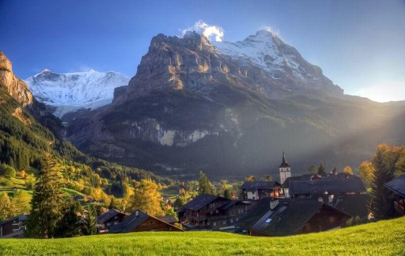 швейцарія гарні місця