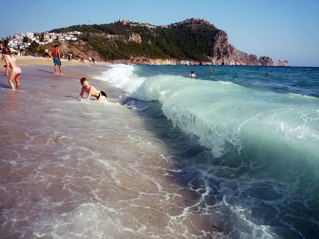 На пляжі в Аланьї