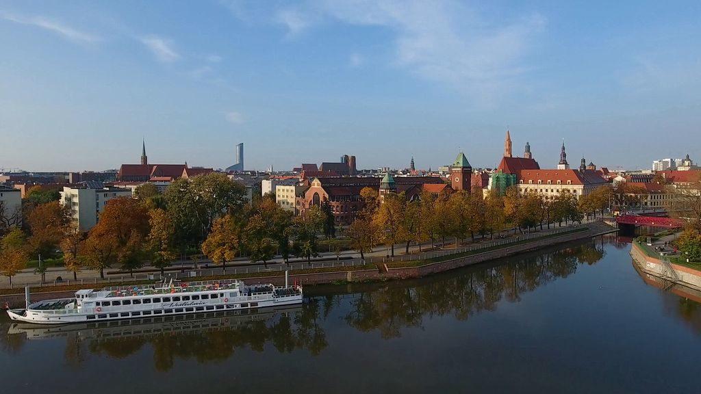 Набережна річки Одра
