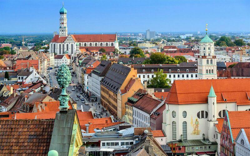 Панорама Аугсбурга
