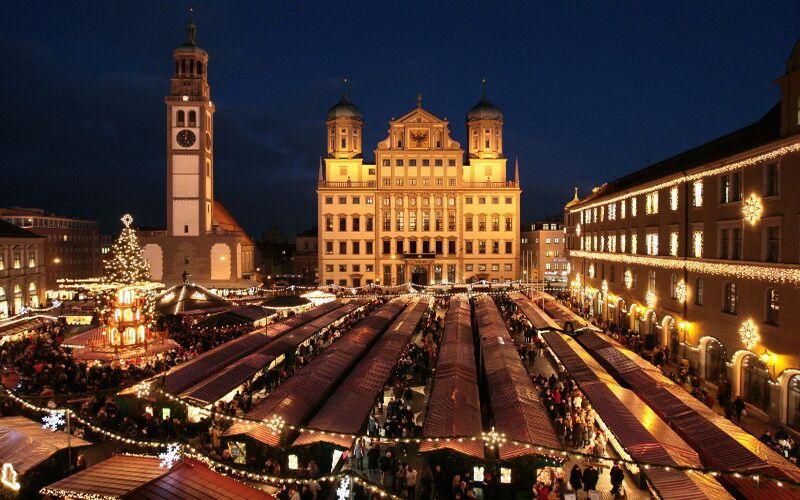 Різдвяний ринок в Аугсбурзі