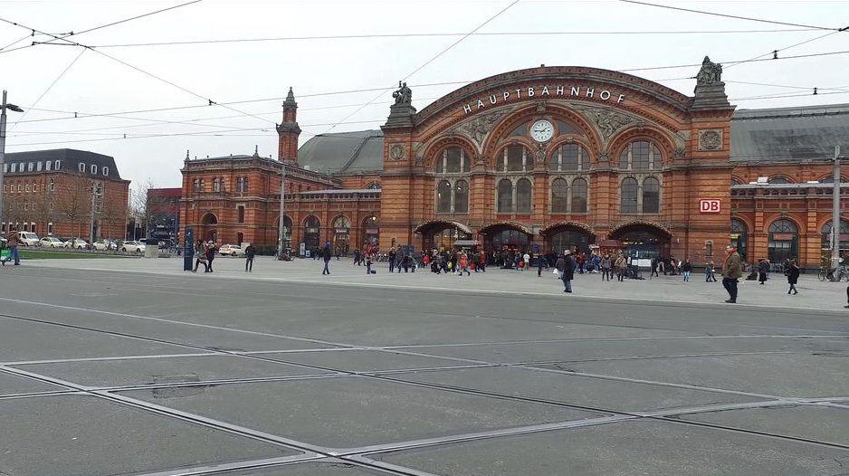 Залізничний вокзал у Бремені