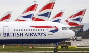 Літак British Airways