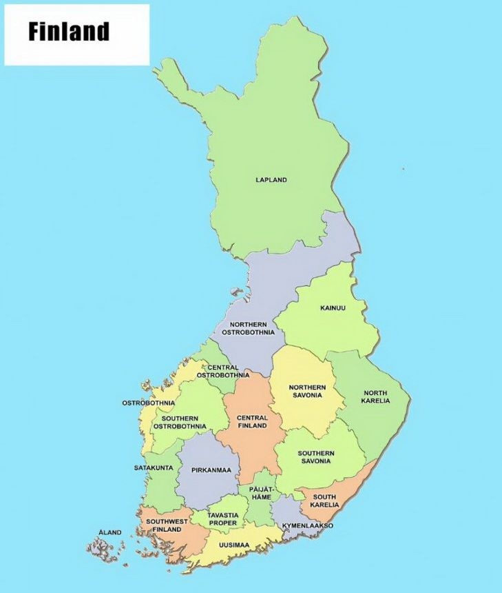 Адміністративний поділ Фінляндії