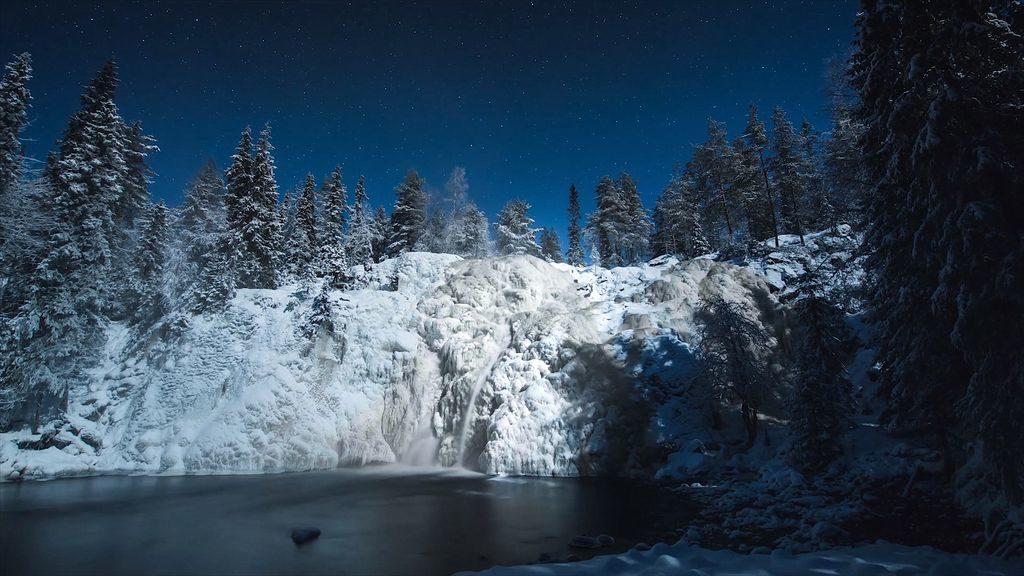 Зима в Лапландії
