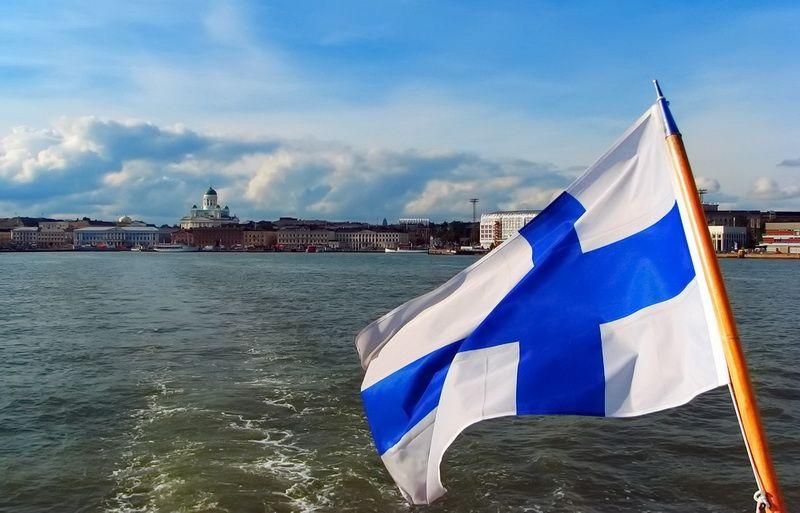 Фінляндія прапор