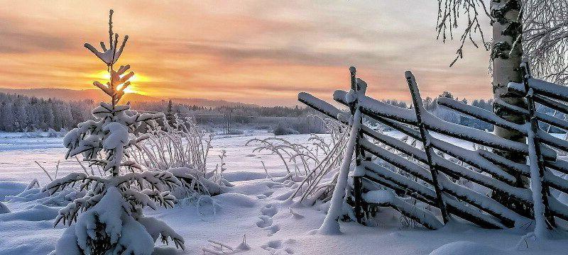Зима в Фінляндії