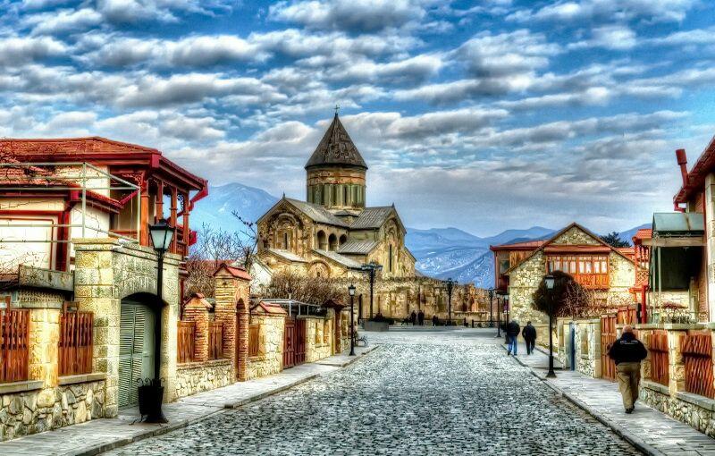 Мцхета - стародавня столиця Грузії