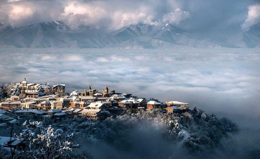 Зима в Грузії