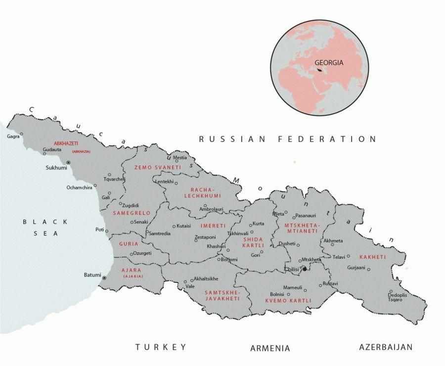 Адміністративний поділ Грузії