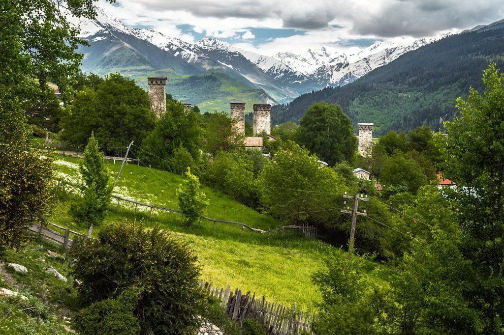 Грузія, гори