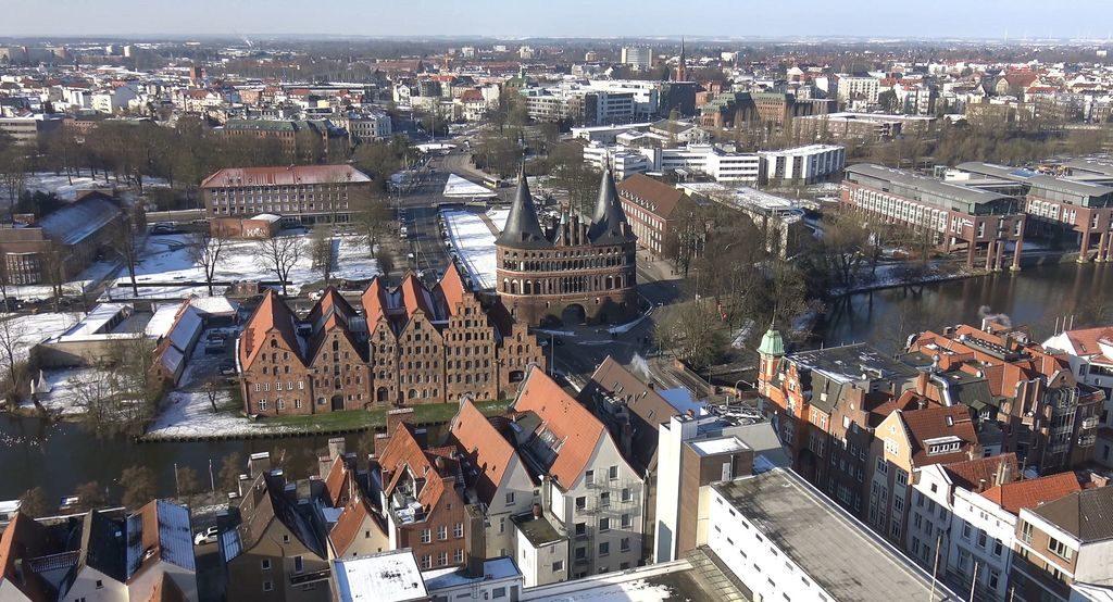 Панорама старого міста Любека