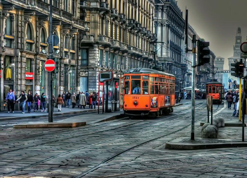 Трамвай Мілана