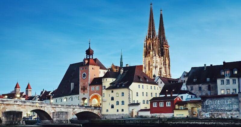 Панорама Старого міста Регенсбурга