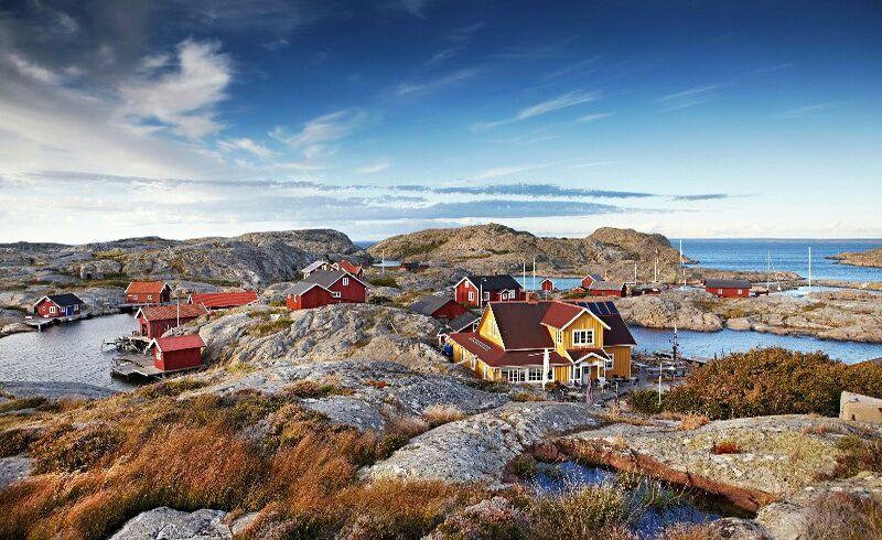 Рибальське село у Швеції