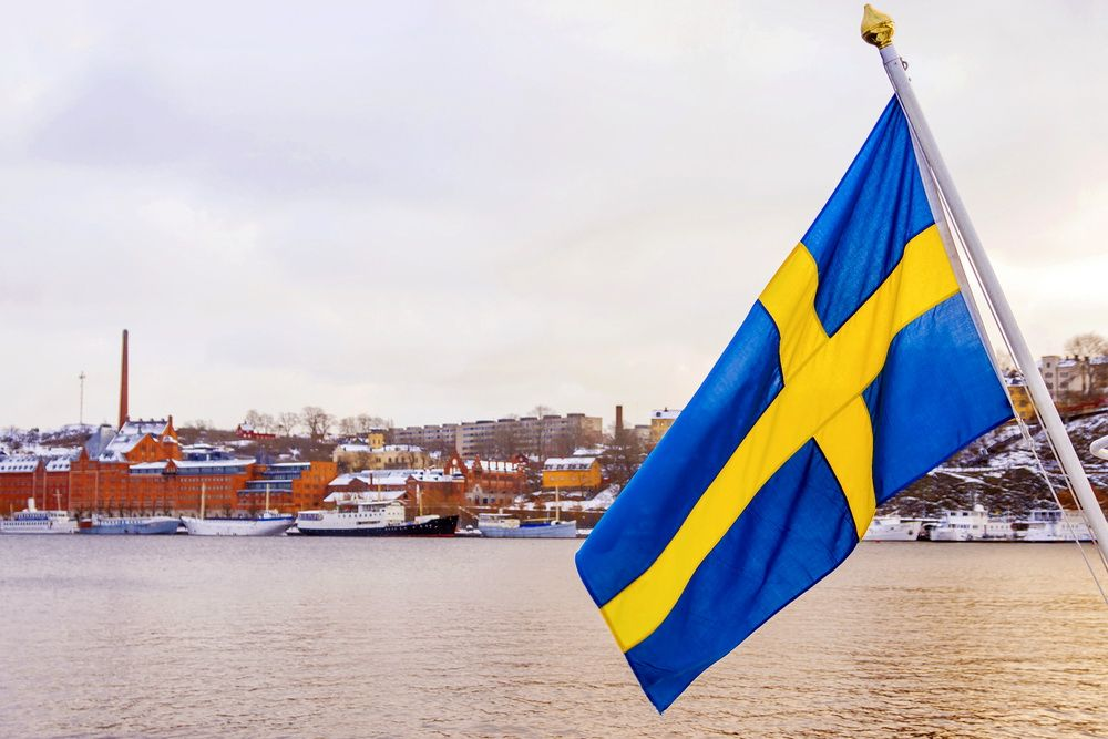 Швеція прапор