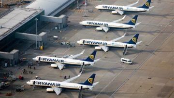 Ryanair розпродає 500 000 квитків зі знижкою
