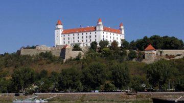 Місто Братислава Словаччина
