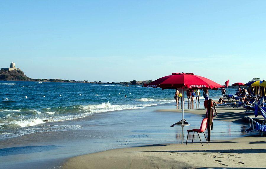 Кальярі пляж