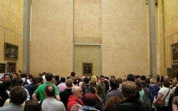 Мона Ліза в Луврі